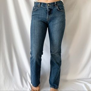 Lucky Brand Dungarees Easy Rider Straight Leg Jean
